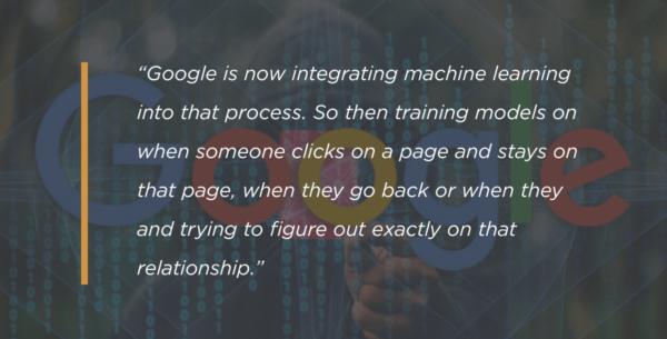 Googleの機械学習についての言及