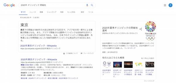 Google検索意図の理解