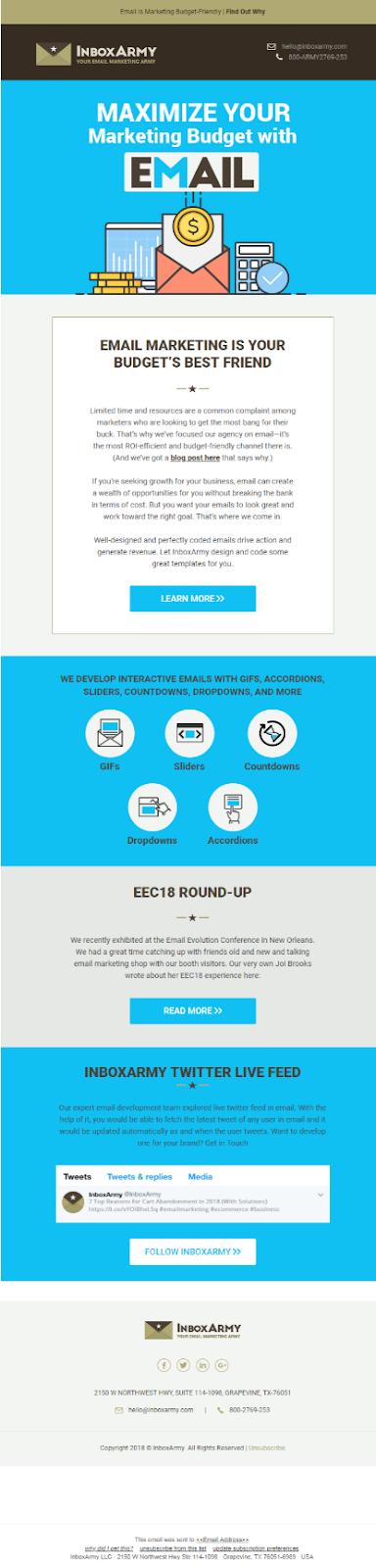 ソーシャルメディアをEメールマーケティングに統合