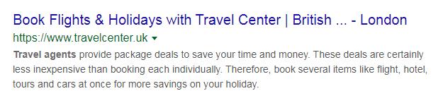 Googleで検索した場合のタイトルタグの挙動