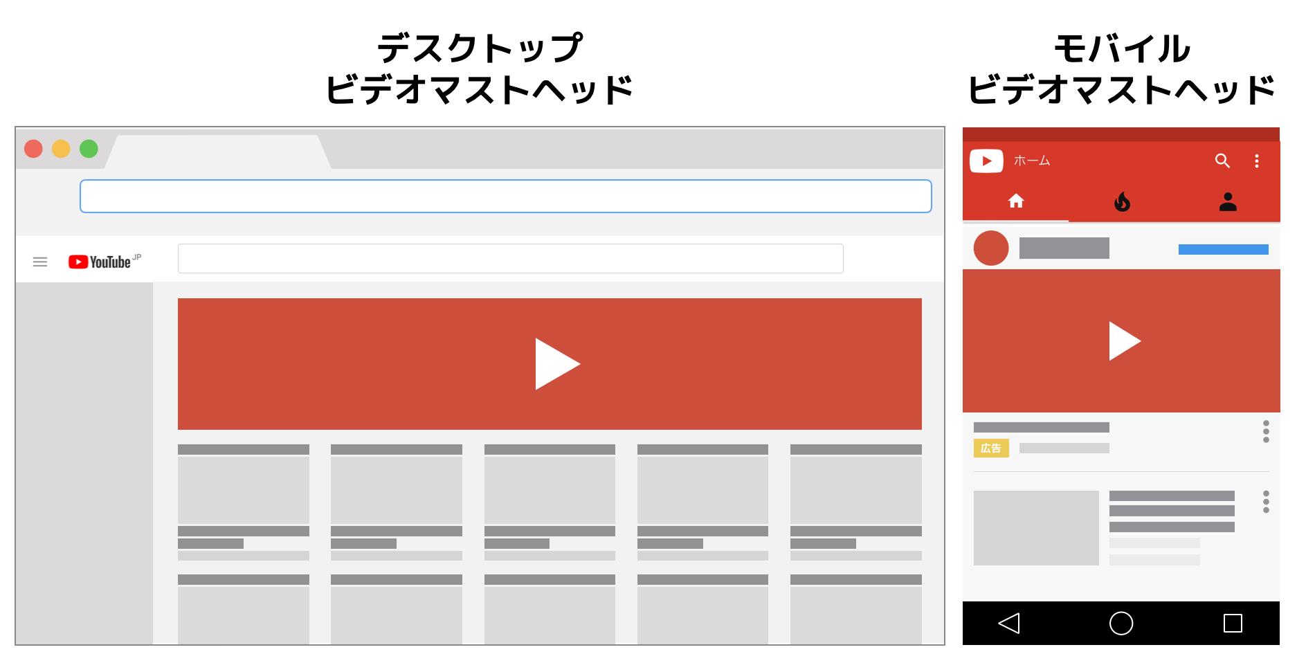 マストヘッド広告とは(YOUTUBE)