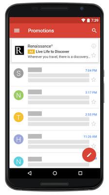 Gmail広告の例