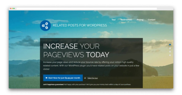Wordpressプラグイン「Related Posts for WordPress」