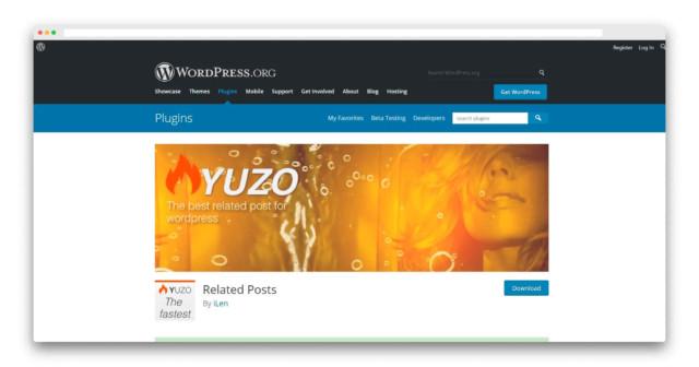 Wordpress関連記事プラグイン「Yuzo」
