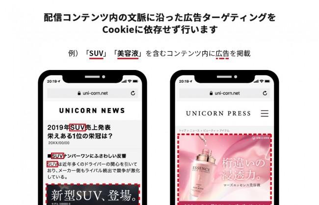 アドウェイズ、全自動マーケティングプラットフォーム「UNICORN」でコンテキストターゲティング機能の提供を開始
