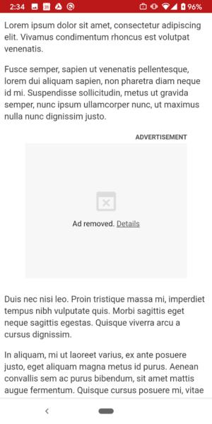 Chromeは、ユーザーが利用する前にディスプレイ広告が使用できるリソースを制限