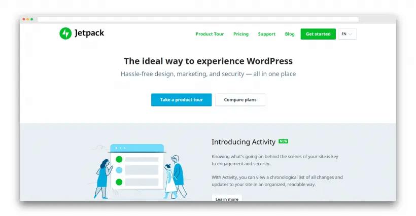 Wordpressプラグイン「Jetpack」