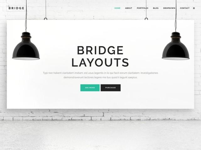 WordPressコーポレートサイトテーマ・企業サイトテーマ「Bridge」