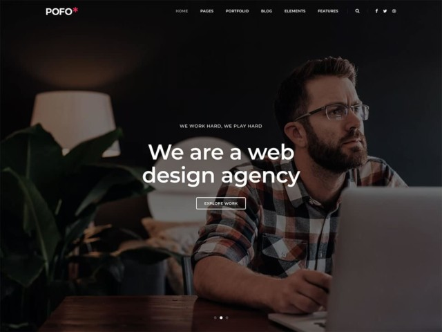 WordPressコーポレートサイトテーマ・企業サイトテーマ「POFO」