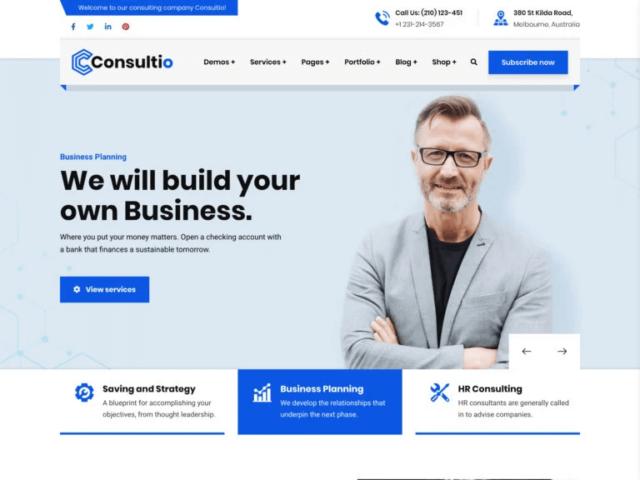 WordPressコーポレートサイトテーマ・企業サイトテーマ「Consultio」