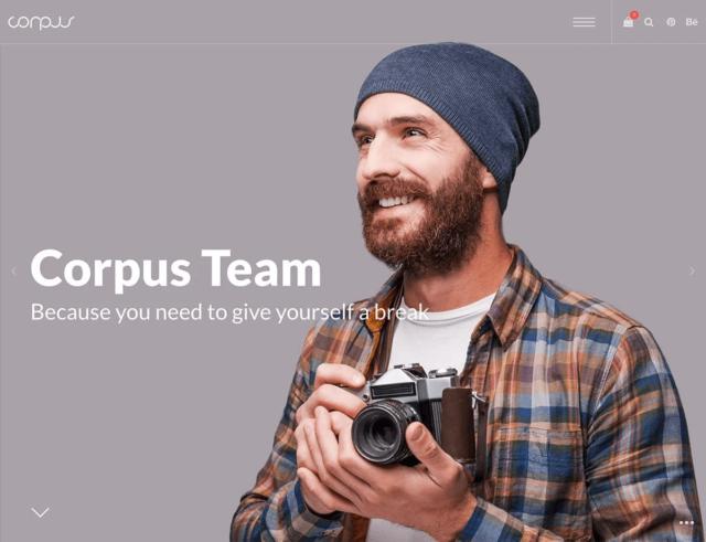 WordPressコーポレートサイトテーマ・企業サイトテーマ「Corpus」