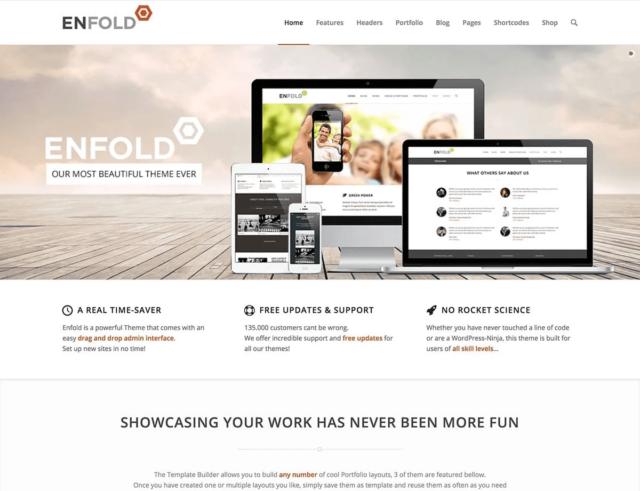 WordPressコーポレートサイトテーマ・企業サイトテーマ「Enfold」