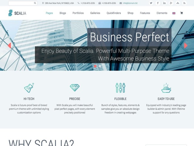 WordPressコーポレートサイトテーマ・企業サイトテーマ「Scalia」
