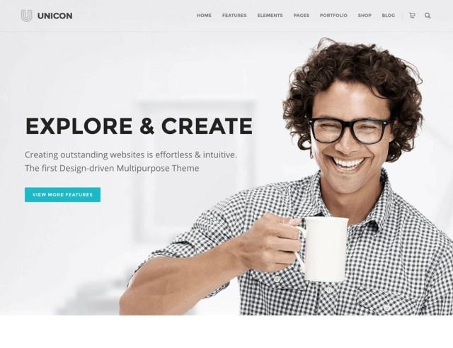 WordPressコーポレートサイトテーマ・企業サイトテーマ「Unicon」