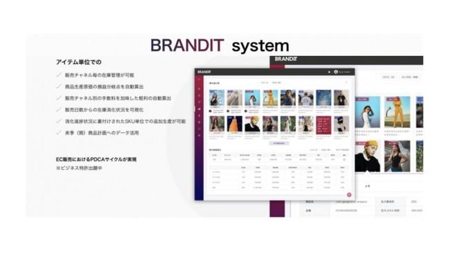 Brandit、アパレル向けECプラットフォーム「BRANDIT system」のカゴ落ち対策ツールをリリース