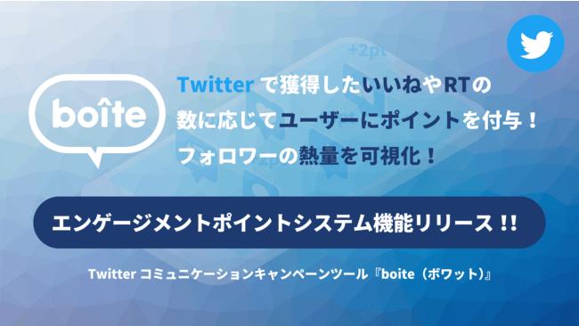 テテマーチ、Twitterキャンペーンツールにフォロワーの熱量を可視化できる新機能を追加