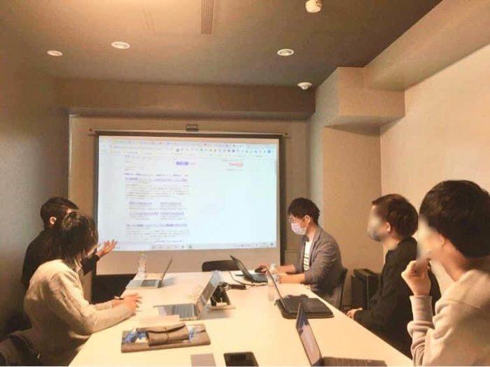 実際のデジプロ 大阪校での授業の様子