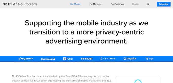 InMobiら6社、「Post-IDFA Alliance」を設立 IDFA以降のiOSマーケティングへのスムーズな移行を成功させるリソースを提供を提供