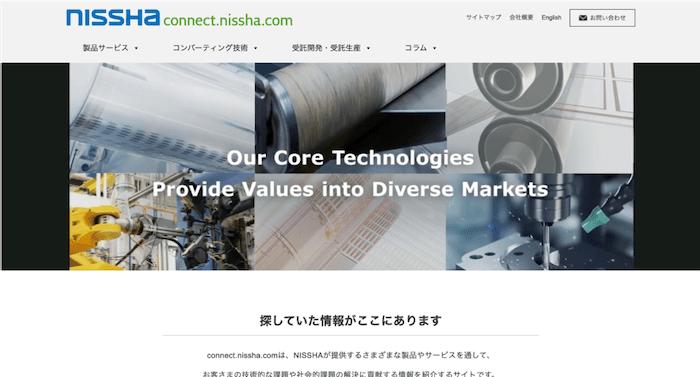 用途開発を目的としたコンテンツマーケティングの具体例として、NISSHAの事例